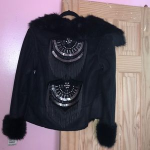 Save The Queen Jackets & Coats - Sherling with faux fur